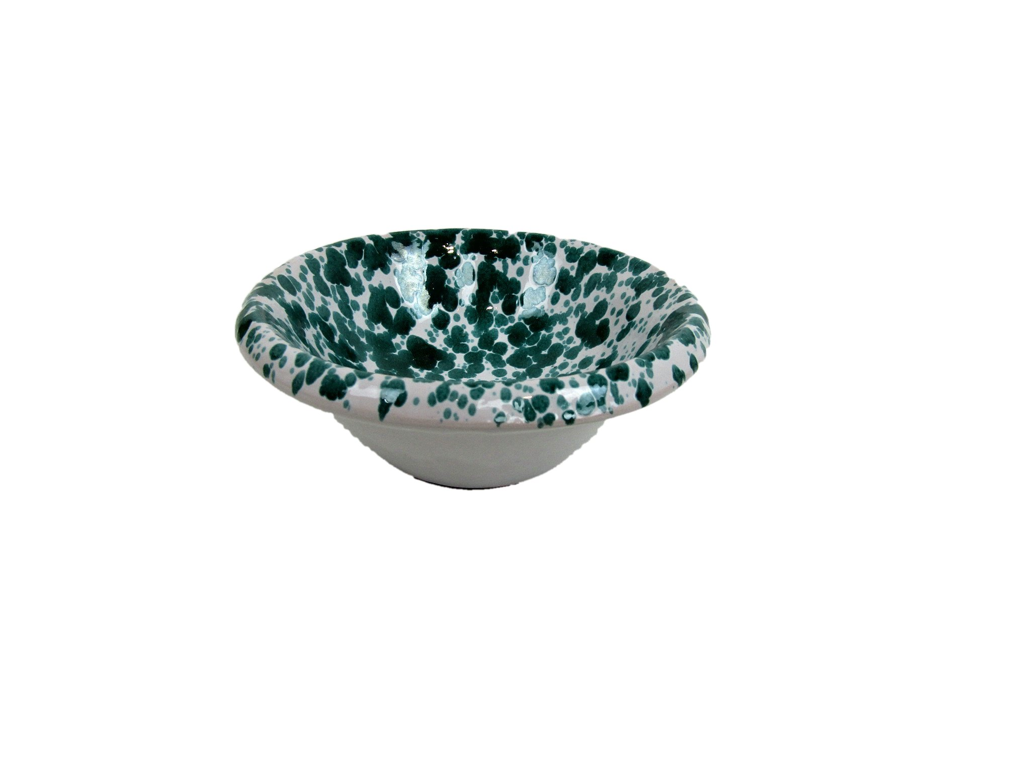 Salad Bowl Terracotta Splashed Cm16Xh5.5 House and Kitchen ...