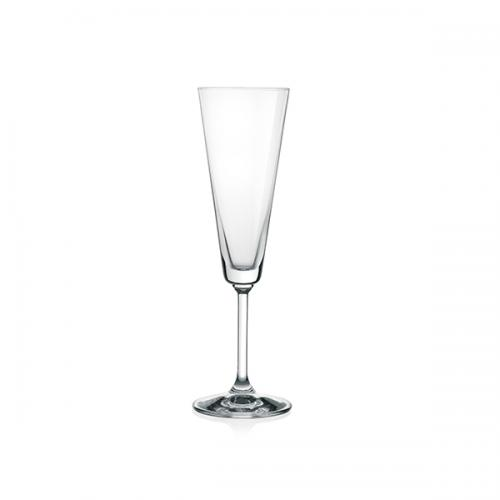 Hu0026H Set 6 Goblets Transparent Glass Jazz Flute Cl18 Glasses And Wine Glasses
