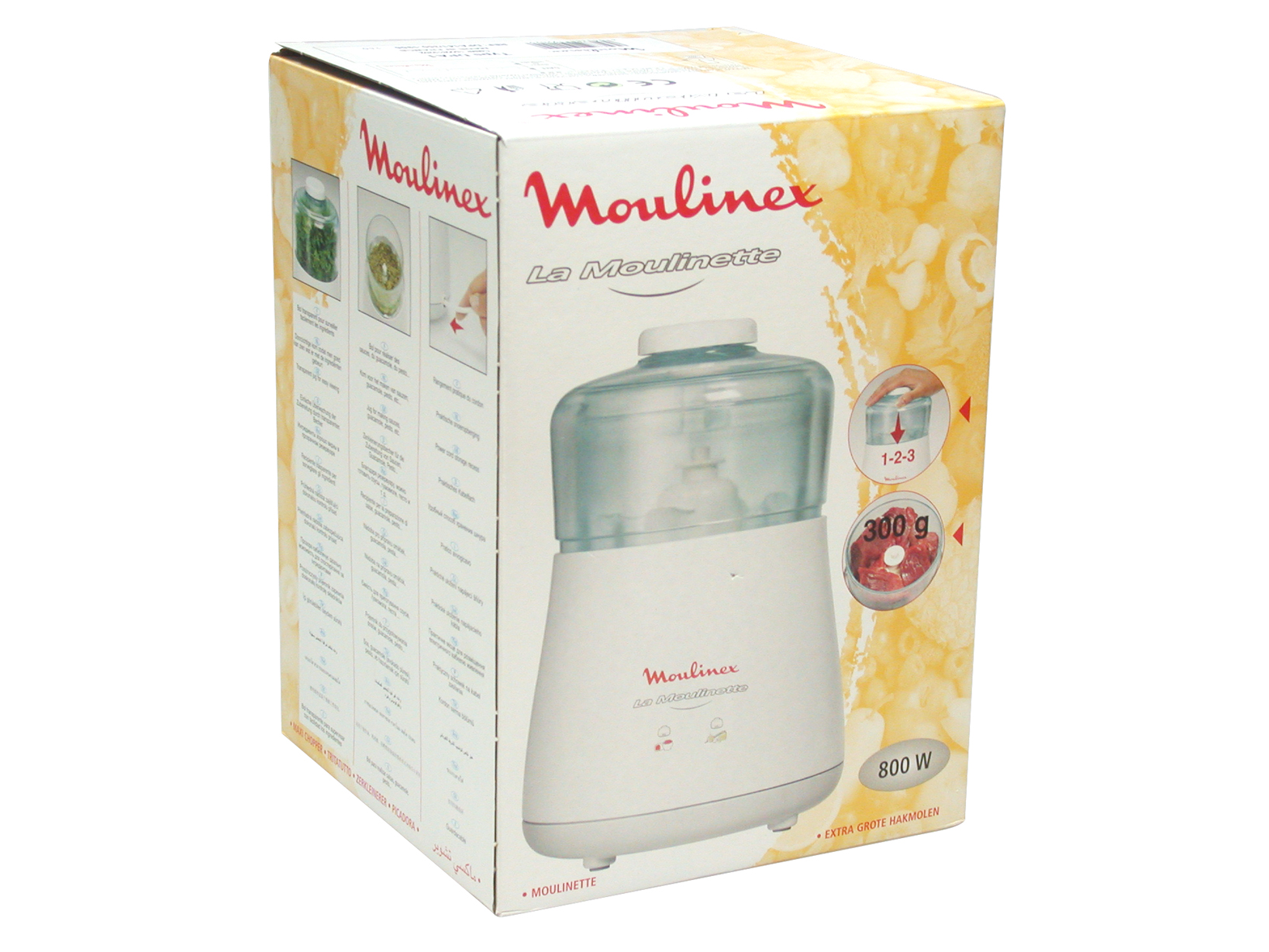 MOULINEX Electric chopper roping Small kitchen appliances