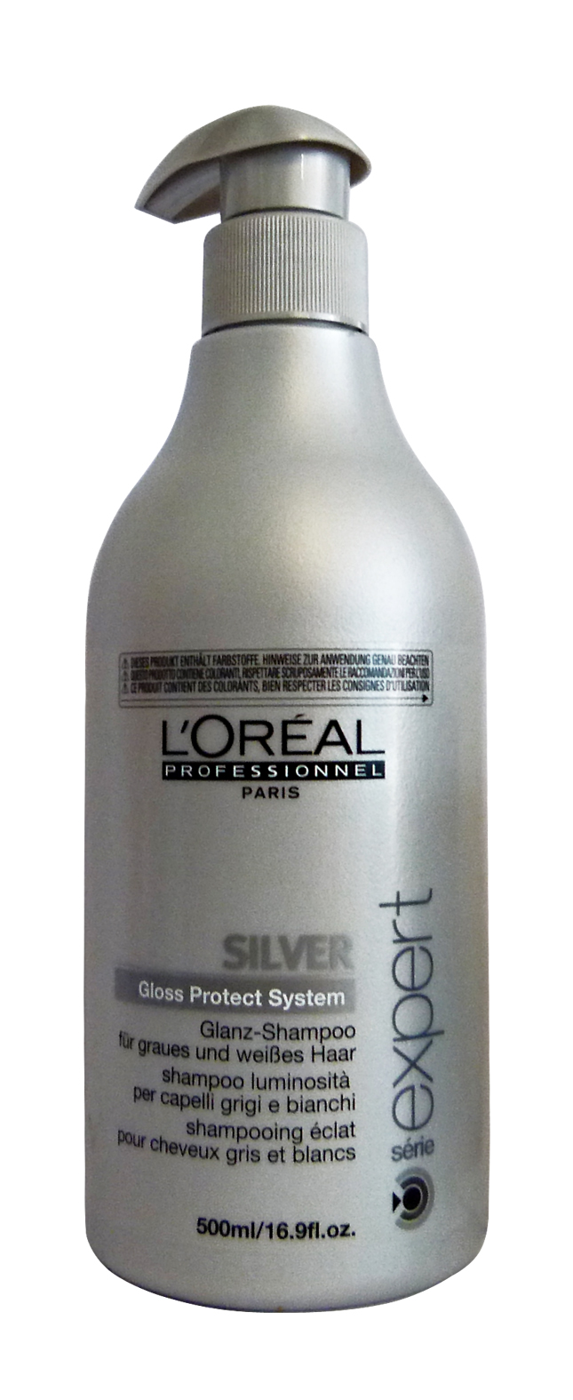 L OREAL Professional Shampoo Silver Gray-White 500 Ml Hair Products ... f486b765c7a3
