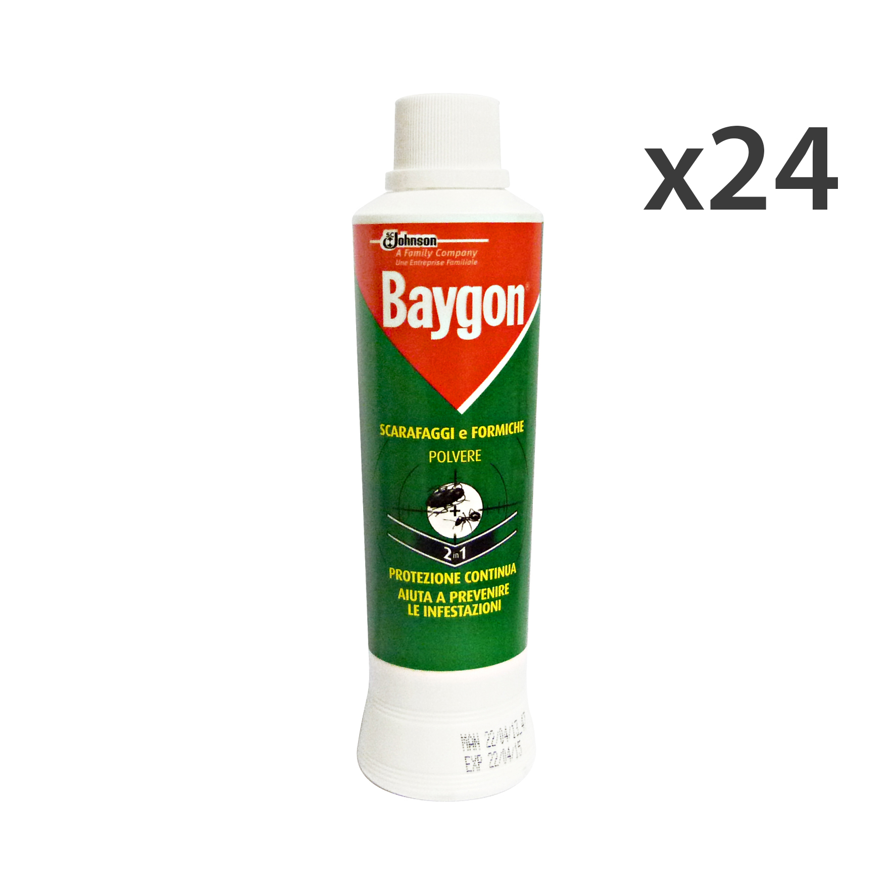 Set 24 Baygon Scar./form.polvere 250 Gr. - Insecticides Insectifuges