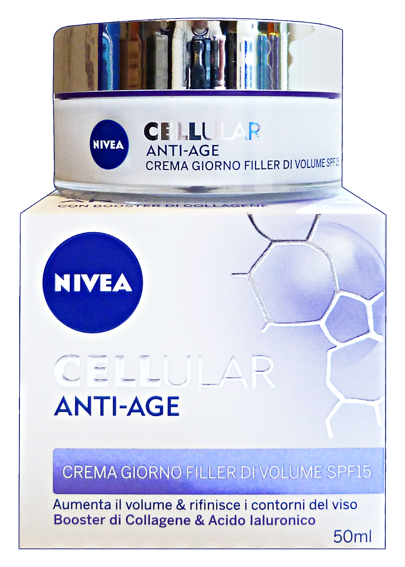 NIVEA Cellular anti-age filler giorno spf15 50 ml.